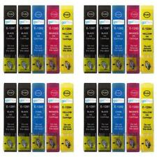 20 Ink Cartridges (4 Sets + Black) non-OEM to replace T1285 & T1281 Compatible