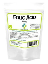 Folic Acid Tablets 400mcg - ONE A DAY (folacin, vitamin B-9)