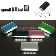 External Backup 5600Ah Portable Power Bank Battery Charger Mobile For Cell Phone