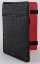 Magic Trick Wallet Credit Card ID Holder Money Clip PU Synthetic Leather W2