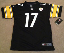 ▐► Mike Wallace Pittsburgh Steelers Nike Jersey Youth Large-14/16 or XL-18/20