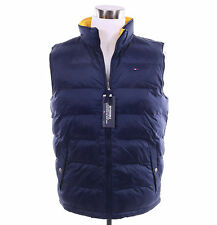 Tommy Hilfiger Men Reversible Puffer Warm Full Zip Vest Jacket Coat - $0 Ship