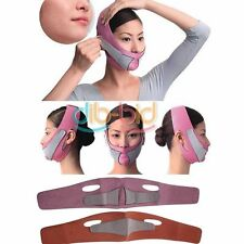 Anti Wrinkle Half Face Slimming Cheek Mask Lift V Face Line Belt Strap DBUS