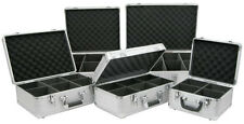 CD FLIGHT CASE 50 LP RECORD BOX 40 60 80120 CD DVD STORAGE CASE BOX HEAVY DUTY