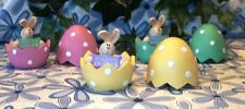 ~Honey and Me~POLKA DOT~Bunnies In Eggs~ADORABLE~3-Color Choices~