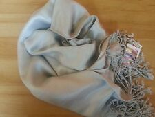 GOOD QUALITY COTTON MIX VERY SOFT SHINY PLAIN COLOUR PASHMINA SCARF SHAWL WRAP