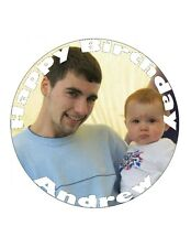 YOUR PERSONALISED CUSTOM PHOTO CAKE, FAIRY OR CUP CAKE TOPPER ON WAFER PAPER