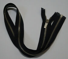 Metal Open End  black zipper #5,Zips,Zipper,#4 Slider(10Inch~30Inch)