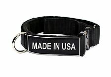 """D&T """"Cobra"""" Patch Dog Collar Made in USA"""