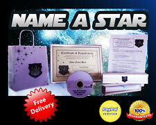 NAME A STAR this Mother's Day! HIGH QUALITY PARCHMENT CARD CERTIFICATE!