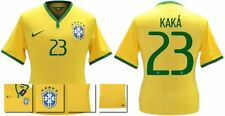 *14 / 15 - NIKE ; BRAZIL PLAYER ISSUE HOME SHIRT SS / KAKA' 23 = SIZE*