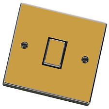 Gold Gloss / Matt Light Switch Cover,Skin,Sticker.Decal Any Room