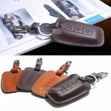 [TECHNICA] Promotion Natural leather Smart Key Case Holder Cover for HYUNDAI CAR