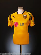 2007-08 AEK Athens Puma Official Home Football Soccer Top Jersey Shirt *BNIB*