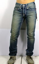 TRUE RELIGION $363 Men's Rocco Slim Natual Super T Brand Jeans