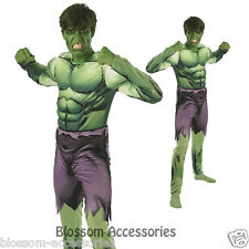 C901 Mens Incredible HULK Avengers Assemble Muscle Chest Hero Adult Costume