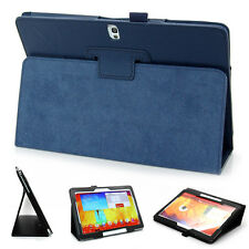 Folio Leather Case Cover Stand For Samsung Galaxy Note10.1 2014 Edition SM-P600