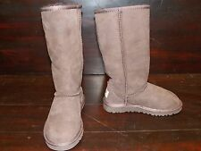 New Kids UGG Classic Tall Chocolate Brown Sheepskin Boots