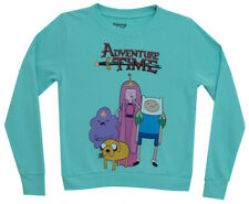 Adventure Time Indifferent Time Group Mighty Fine Jrs Sweater Sweatshirt