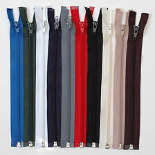 NYLON TEETH OPEN ENDED ZIP (Choice of Colour & Size )