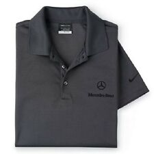 Mercedes-Benz Charcoal Golf Polo with Dri-Fit Material produced by Nike