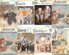 OOP Stuffed Easter Bunny Sewing Pattern Butterick McCalls Simplicity U Choose
