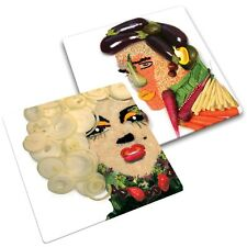 JOSEPH JOSEPH MARILYN DESIGNED KICTHEN WORKTOP SAVER CHOPPING BOARD ICONS