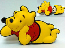 New Cartoon Pooh Bear Model 4GB-32GB USB2.0 Enough Memory Stick Pen Drive RL164