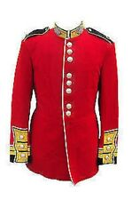 British Army - SCOTS GUARDS WARRANT OFFICER TUNICS - Red Ceremonial Tunic - Used