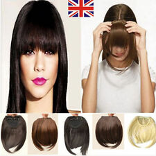 Variou style Clip On Clip In Front Bang Fringe Hair Extension Straight one piece