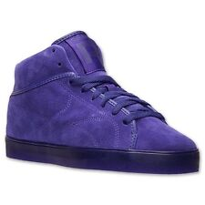 c04601a566c7 REEBOK MENS T RAWW CLASSIC CASUAL FASHION MID TOP RETRO SNEAKER PURPLE NEW  7-13