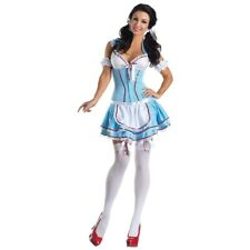 Sexy Dorothy Body Shaper Costume Adult Womens Halloween Fancy Dress
