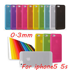 Ultra Thin 0.3mm Matte Finish Slim Fit Case For a iPhone 5 5s