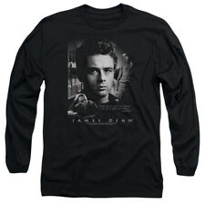 James Dean Icon Movie Actor Dream Live Adult Long Sleeve T-Shirt Tee