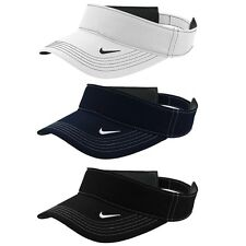 NIKE GOLF DRI FIT UNISEX SWOOSH VISOR TOUR CAP ADJUSTABLE PERFORMANCE SPORTS HAT