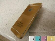 METAL EFFECT NEW VINYL DECAL WRAP KIT STICKER SKIN COVER for iPHONE 5 5S