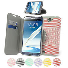 Folio Wallet Case for Samsung Galaxy Note 2 N7100