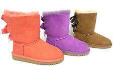 Ugg Australia Kids Bailey Bow Boots ElV, Che, Shrp 3280 New & Authentic