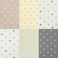 Polka Dot Spot PVC Oilcloth Wipeclean Tablecloth All Sizes Colours & Designs
