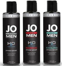 System Jo Mens H2O Water Based Personal Sex Lube Lubricant - Choose Type