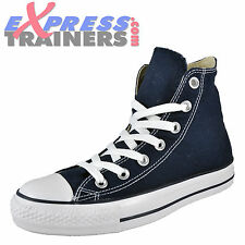 Converse Womens Junior All Star Hi Chuck Taylor Trainers Navy * AUTHENTIC *