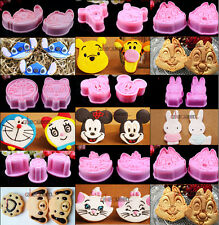 Cartoon Cookie Biscuit Cutter Plunger Mold Fondant Cake Decorating Craft Baking