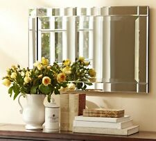 CLASSIC  ART DECO  FRAMED BEVELLED EDGE  MIRROR – ART DECO STYLE  (MM17)