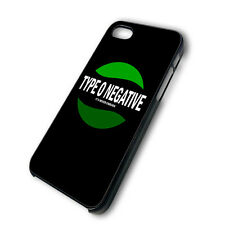 Type O Negative Logo3 MZ New FOR iphone 4 4g 4s 5 & galaxy S3 S4 hard case cover
