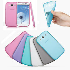 Rubber Soft Silicone Phone Case Cover Bumper For Samsung Galaxy S3 Siii i9300