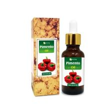 PIMENTO OIL 100% NATURAL PURE UNDILUTED UNCUT ESSENTIAL OIL 5ML TO 100ML
