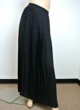 $1295 NEW Authentic Gucci Runway Long Pleated Skirt, Black, 292848