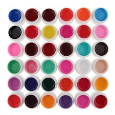 1 Pot Cover Pure Colors UV Gel for UV Nail Art Tips Extension 36 Colors Choose