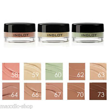 INGLOT | AMC Cream Concealer  | Conceal Camouflage | Single water resistant