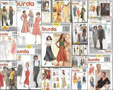 OOP Burda Sewing Pattern Womens Misses Sizes with Plus Size   You Pick